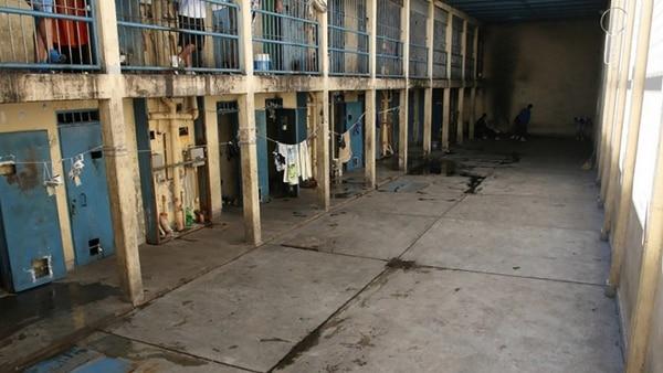 El interior de la cárcel de Boulogne Sur Mer, donde está preso Enrique Montuelle.