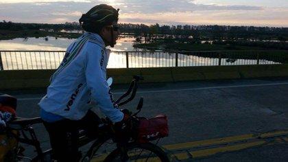 El joven de 30 años contó con el apoyo de la Agencia Córdoba Deportes