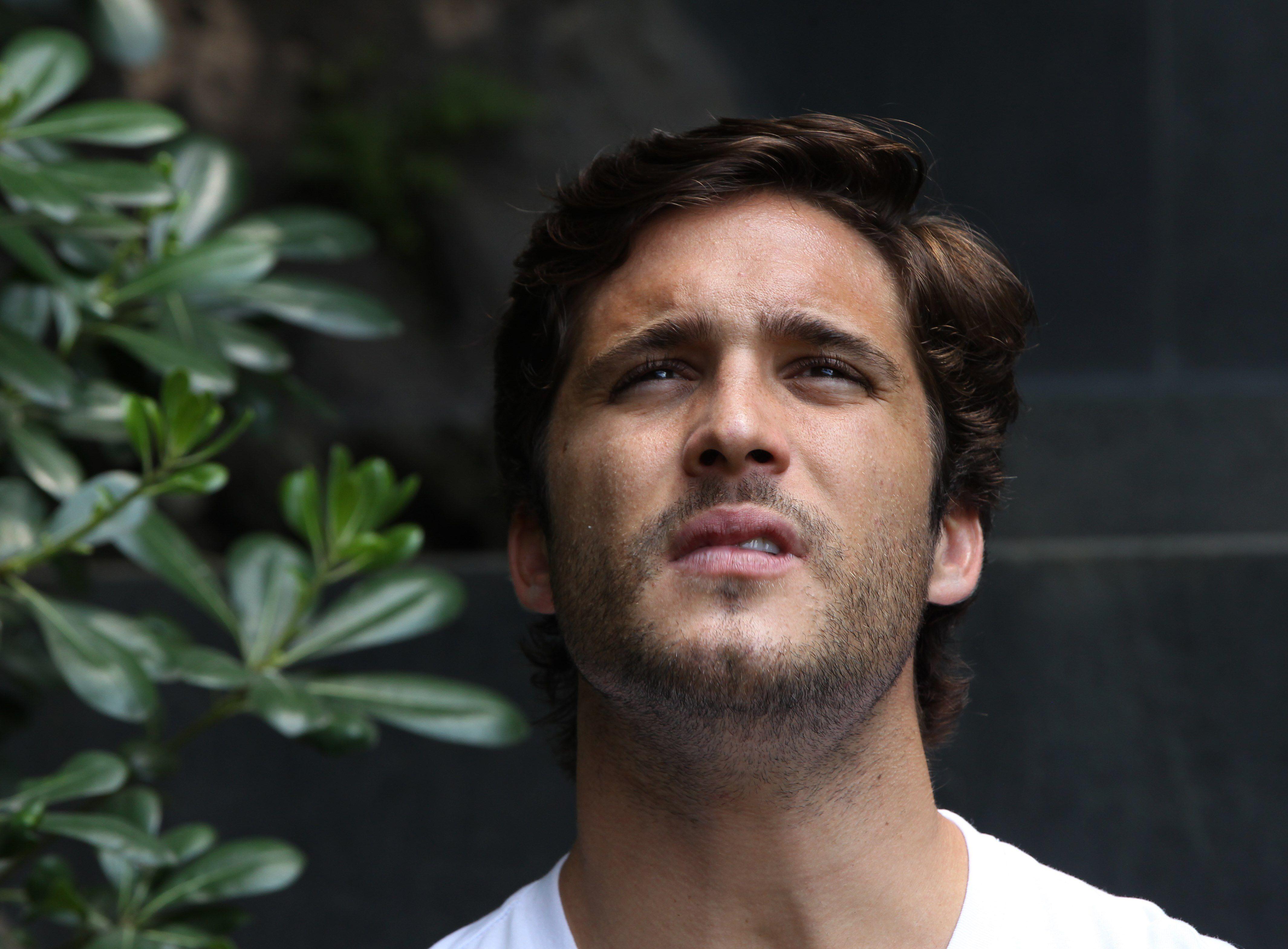 El actor mexicano Diego Boneta, quien interpreta a Luis Miguel (Crédito: EFE / Mario Guzmán)