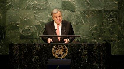 Antonio Guterres, secretario general de la ONU (AP)