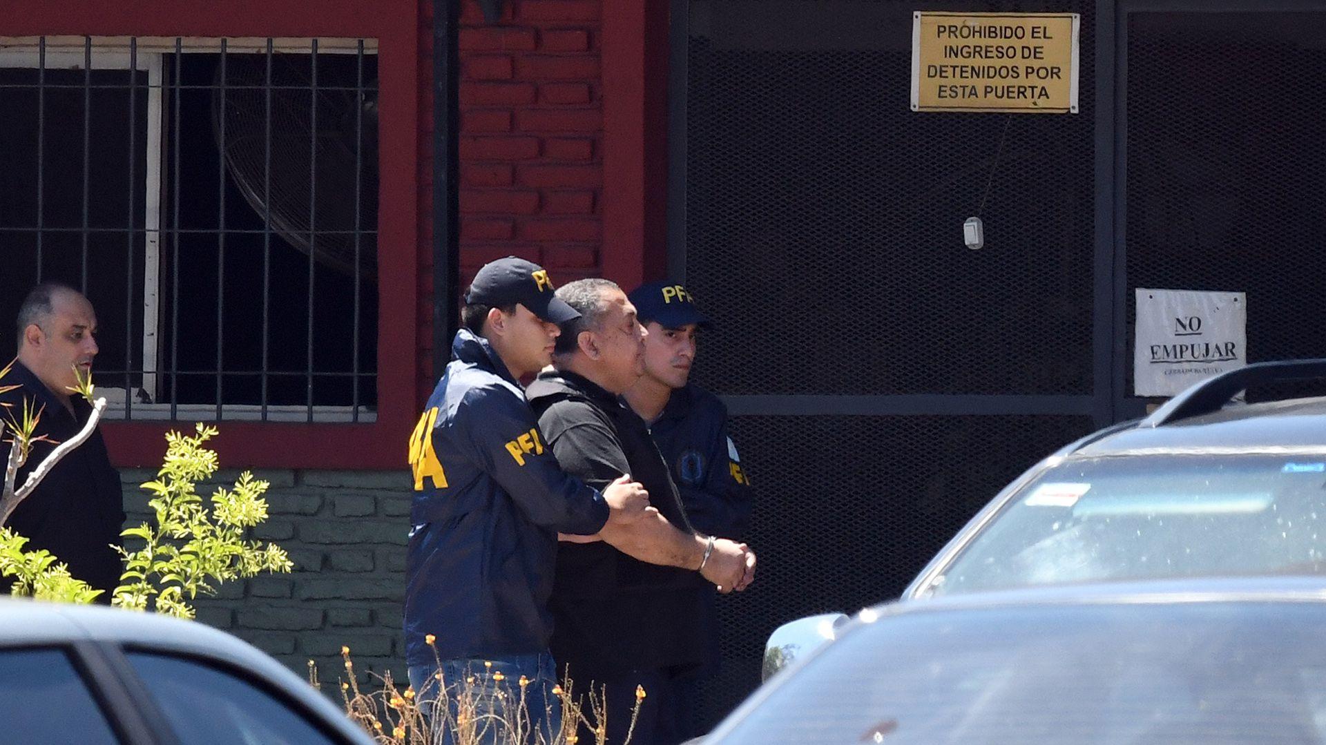 El dirigente social cumple una condena por usurpar una comisaría en el barrio de La Boca (Gustavo Amarelle)