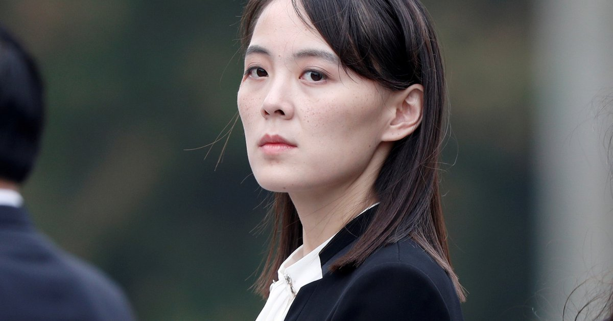 Kim Jong-un's sister warned the US about