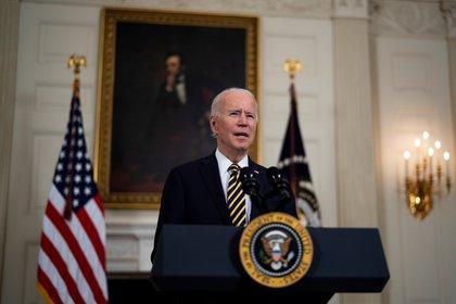 En la imagen el presidente de Estados Unidos, Joe Biden. EFE/Doug Mills