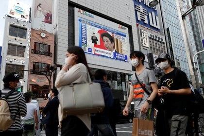 El primer ministro Shinzo Abe anunció este lunes el levantamiento del del estado de emergencia en todo el país luego de Japón lograra controlar la propagación del coronavirus. (Reuters)