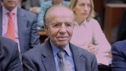Carlos Menem (Patricio Murphy)