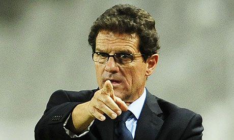 Fabio Capello criticó duramente a Cristiano (Foto AP)