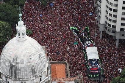 Las imágenes aéreas del centro de Río de Janeiro