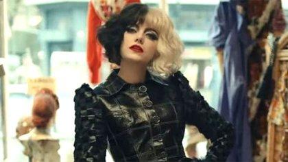 Emma Stone protagoniza el clásico de Disney (Foto: Trailer Cruella, Disney)