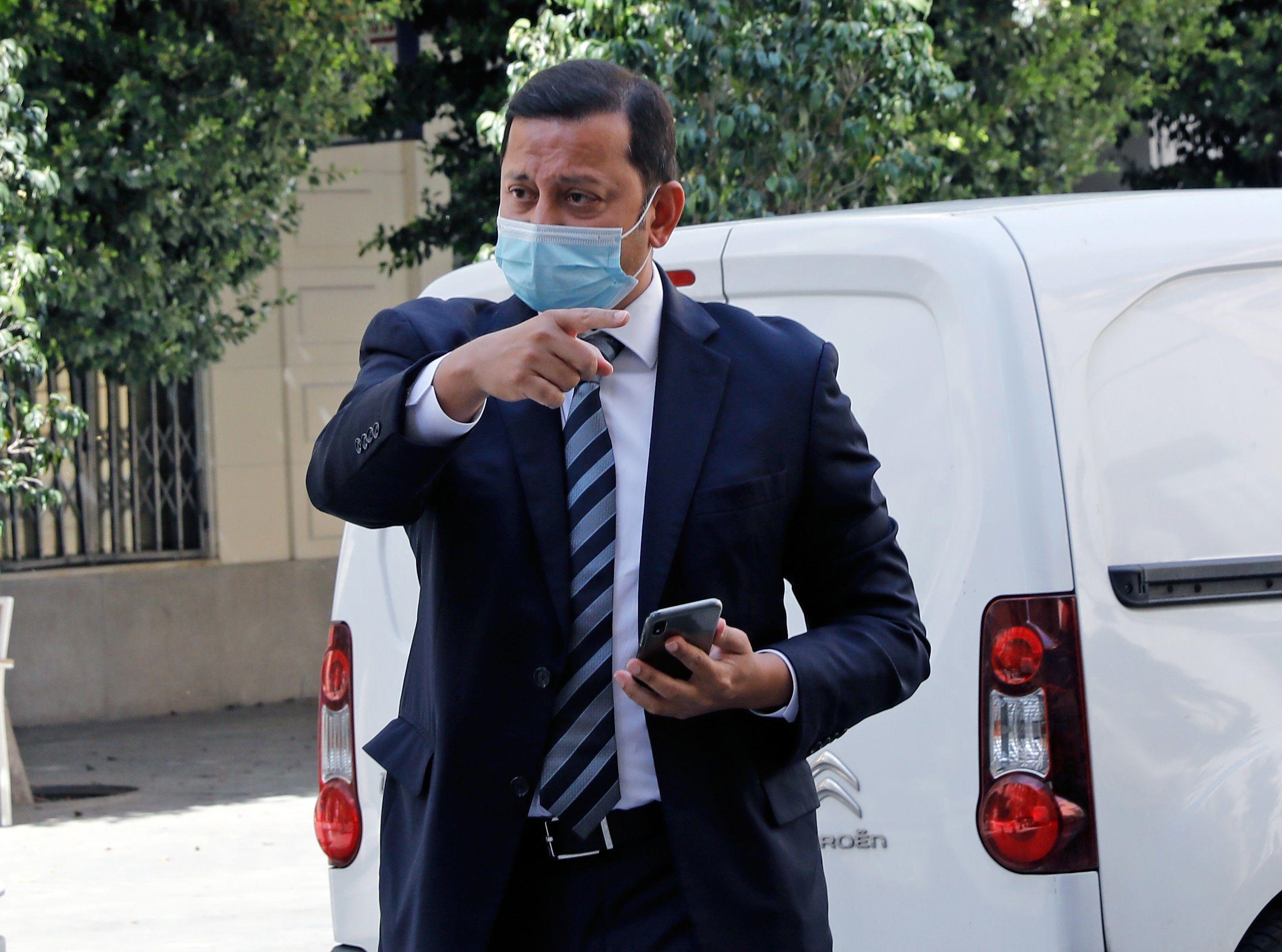 El presidente del Valencia CF, Anil Murthy. EFE/ Juan Carlos Cárdenas/Archivo