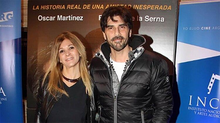 Juan Darthés y María del Carmen Leone