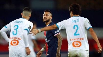 """Neymar sostiene que González le dijo """"mono"""" (Reuters)"""
