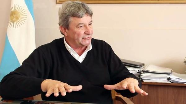 El intendente Carlos Peiretti.