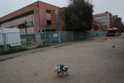 Una vista de un barrio de Santiago, Chile (REUTERS/Ivan Alvarado)