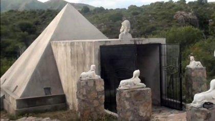 "El ""templo"" de Seshen allanado en Córdoba (foto: MPF Córdoba)"