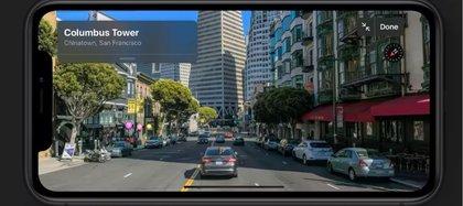 Apple Maps llegan con más detalles y la opción de tener vistas de 180 y 360 grados.