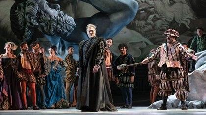 """""""Rigoletto"""", de Giuseppe Verdi, en una nueva producción del Teatro Colón. Fotos: Máximo Parpagnoli"""