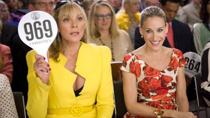 Kim Cattrall y Sarah Jessica Parker en una escena de la serie (Foto: Sex and the City/HBO)
