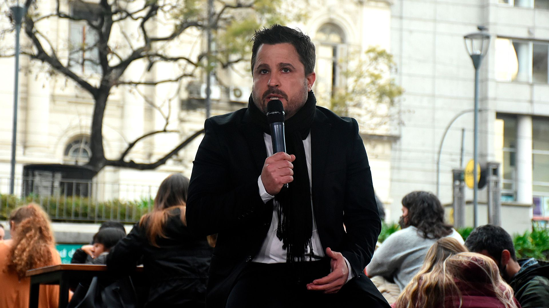 Presentacion MARTIN TETAZ candidato diputado uce martin lousteau