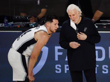 Luego de 22 años los San Antonio Spurs no clasificaron a los playoffs de la NBA (Credit: Kevin C. Cox/Pool Photo-USA TODAY Sports)