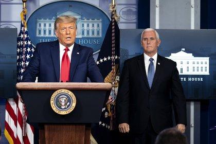 La relación entre Donald Trump y Mike Pence ya está rota