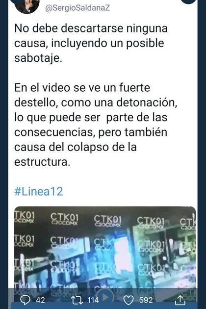 (Twitter: @SergioSaldanaZ)