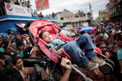 Muchos menores hicieron parte de la casa. (REUTERS/Ueslei Marcelino)