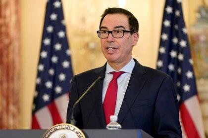 Steve Mnuchin, secretario del Tesoro, es la cara del gobierno en las negociaciones con la oposición (Reuters)