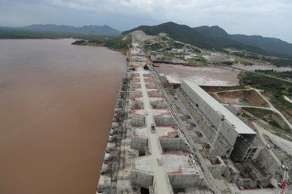 La Gran Represa del Renacimiento de Etiopía en Guba Woreda, Región de Benishangul Gumuz, el 26 de septiembre de 2019 (REUTERS/Tiksa Negeri/Archivo Foto)