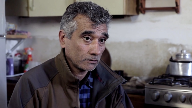Alfredo Suasnabar, uno de los más afectados psicológicamente(Lihueel Althabe)
