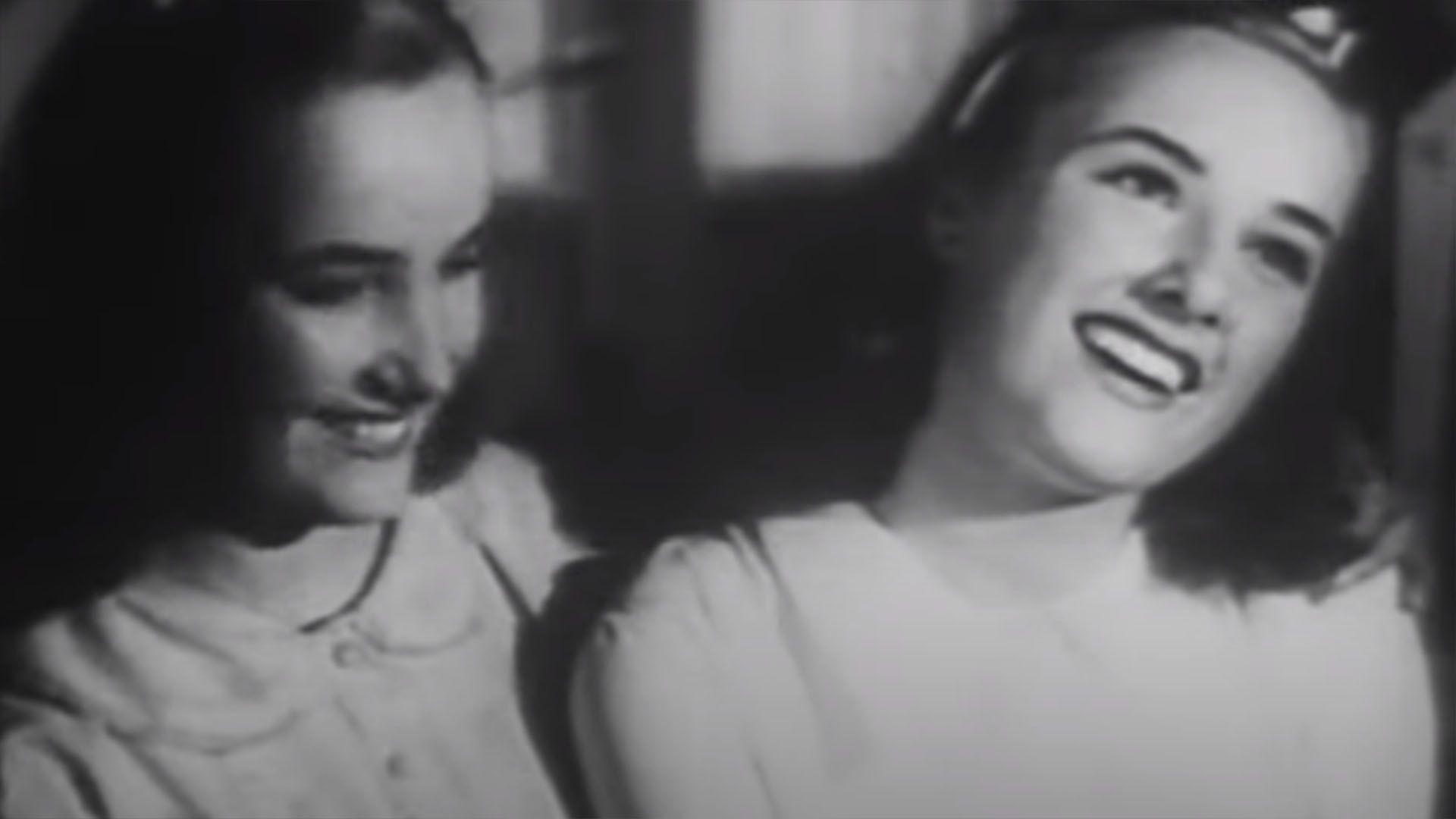 Mirtha y Goldie Legrand en los inicios de su carrera