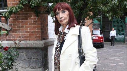 """Lucía Guilmain le tuvo mucho aprecio a la obra """"La casa de Bernarda Alba"""", pues su madre también actuó en dicha puesta en escena (Foto: Twitter@BlogDelRegio)"""