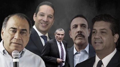 Hasta ahora, cinco gobernadores habían dado positivo a COVID-19 (Foto: Infobae)
