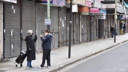 Las galerías comerciales de la ciudad reportaron un masivo cierre definitivo de locales (Franco Fafasuli)
