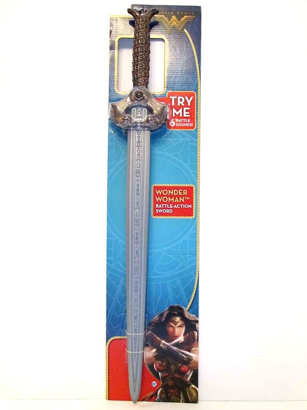 WONDER WOMAN BATTLE-ACTION SWORD
