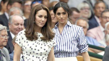 El historiador reveló que Kate y Meghan jamás se entendieron