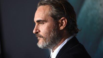 Joaquin Phoenix, en la premiera de Joker.