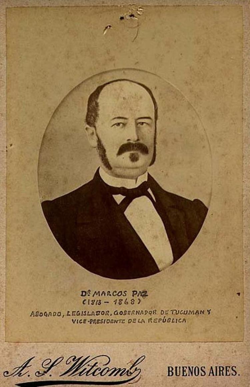 Marcos Paz murió de cólera, mientras ejercía la presidencia en reemplazo de Bartolomé Mitre