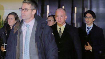 Jeffrey Gerrish, representante comercial adjunto de los Estados Unidos, encabeza la delegación norteamericana (Reuters)