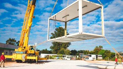 Hospitales modulares para enfrentar el COVID-19