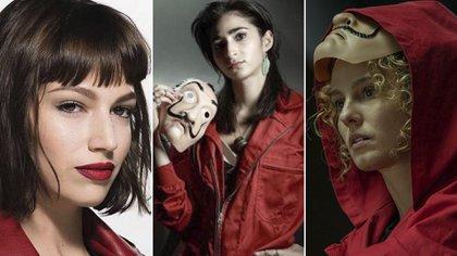 """Cómo maquillarte para tener el look de las protagonistas de """"La casa de papel"""""""