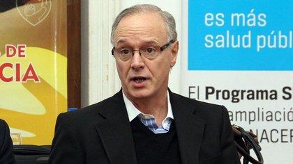 Daniel Gollan fue ministro de Salud nacional en 2015