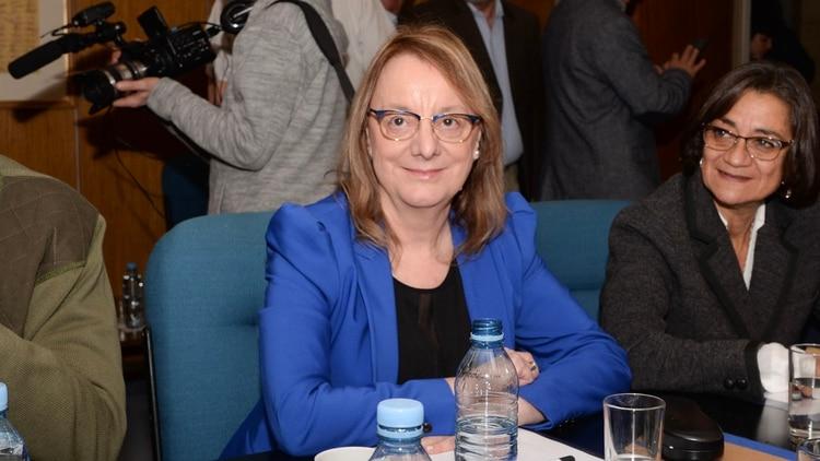 La gobernadora Alicia Kirchner aún no confirmó si va por la reeleción (Julieta Ferrario)