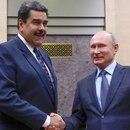 Nicolás Maduro junto a Vladimir Putin (REUTERS/Maxim Shemetov)