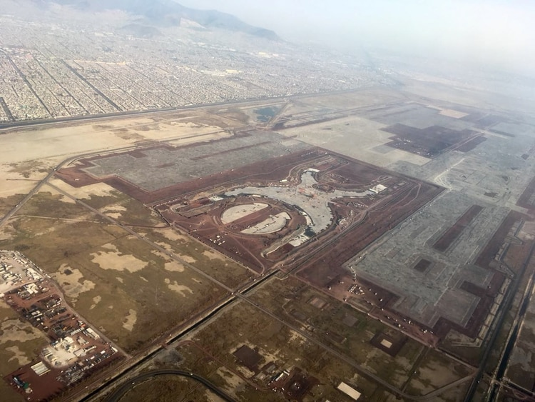 El proyecto de un nuevo aeropuerto de la Ciudad de México ha sido motivo de polémica en los últimos años (Foto: Isabel Mateos/ Cuartoscuro)