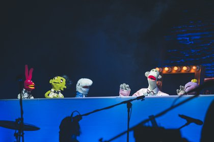 El espectáculo de títeres chileno logró reunir a 3.500 personas en el teatro Jorge Eliécer Gaitán el año pasado, durante su invitación para participar en Rock al Parque.
