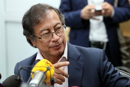 El político y ex guerrillero colombiano Gustavo Petro (EFE)