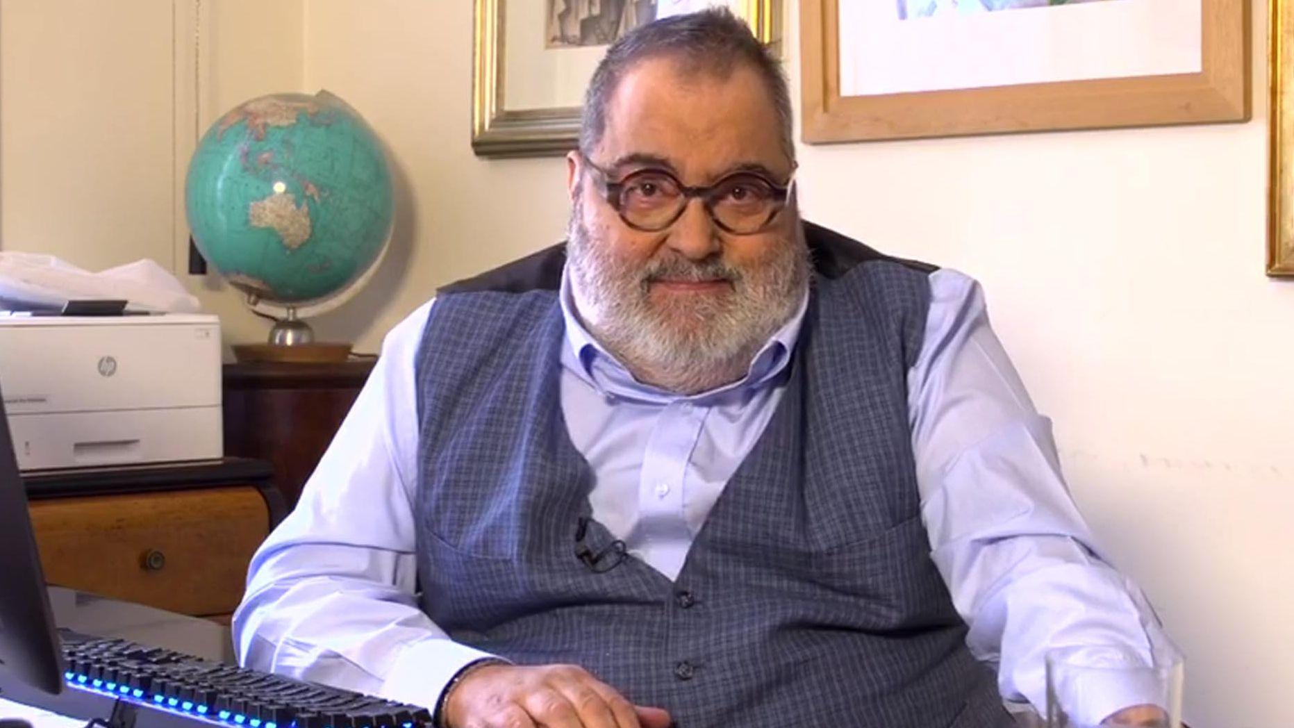 Jorge Lanata cuestionó la autoridad de Alberto Fernández dentro del Gobierno.