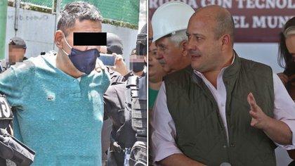 """El """"Vaca"""" (izquierda) reveló que el segundo en la lista del CJNG es el gobernador de Jalisco, Enrique Alfaro (Derecha)  (Foto: Especial)"""