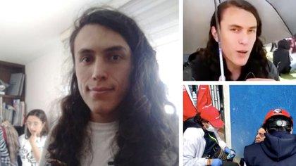 Gareth Sella, joven herido durante las protestas del 24 de febrero en Bogotá / (NotiCentro1 CM&).