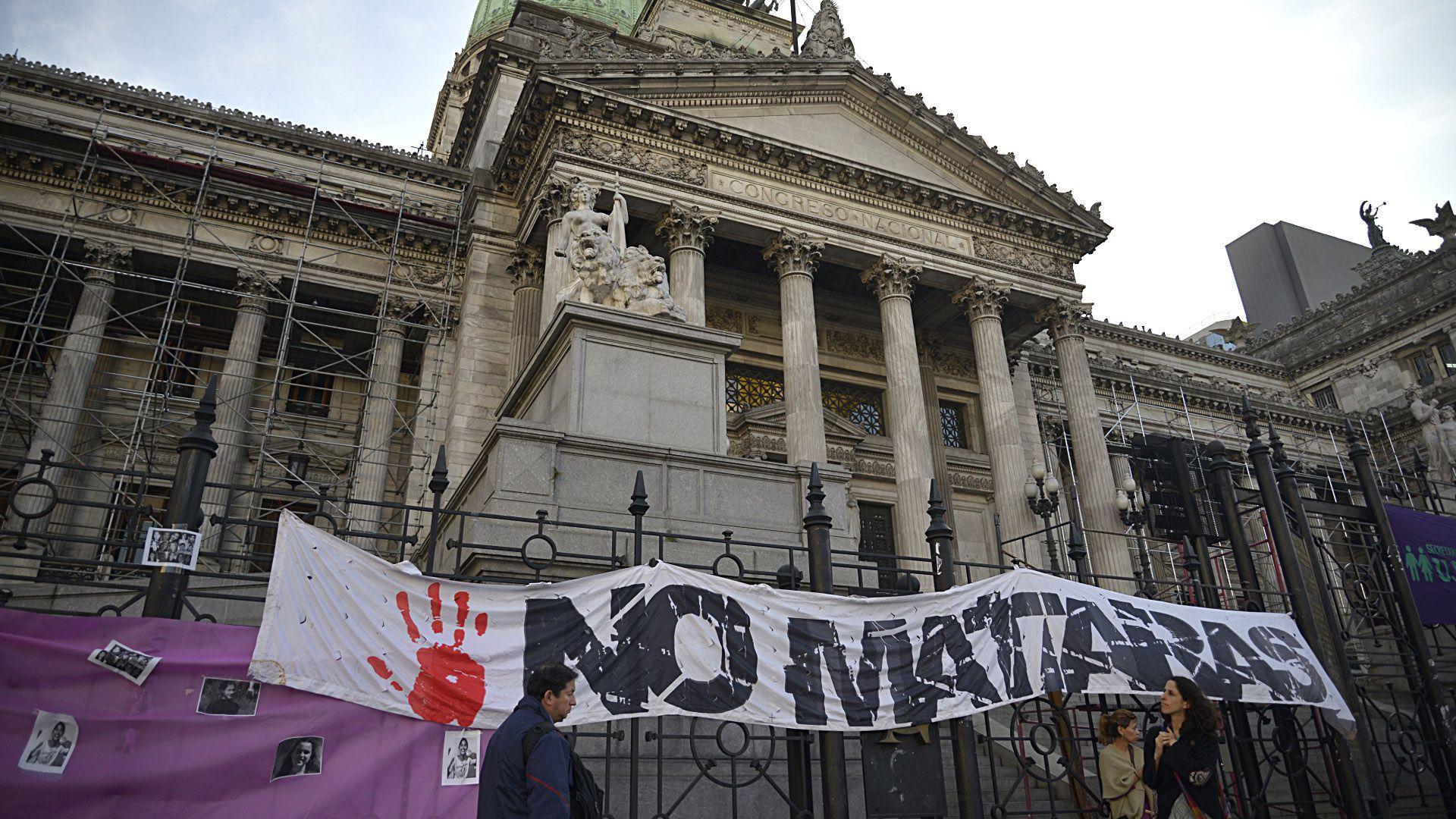 """""""No bajó la violencia. Ahora hay dificultades para presentar las denuncias"""", le explicó a Infobae Analía Monferrer (Gustavo Gavotti)"""